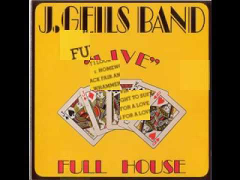 J Geils   Full House   Album 1972