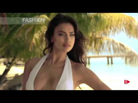 IRINA SHAYK for BEACH BUNNY SWIMWEAR Photoshoot Spring Summer 2014 HD by Fashion Channel
