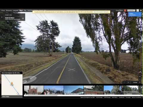 Ruta para llegar al Paso de Cortes - Popocatepetl - Completa