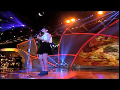 Programa Raul Gil - Bianca Malfatti (Leãozinho) - Jovens Talentos - #JT2013