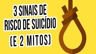 Sinais de risco de suicídio | Setembro Amarelo