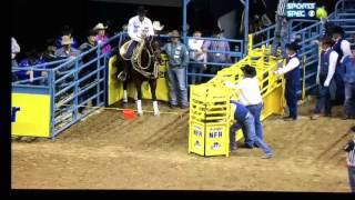2015 NFR TIE DOWN ROPING ROUND 3