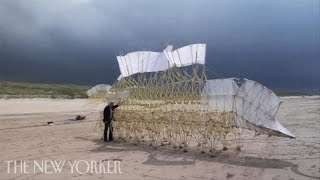 Beach Creatures: Theo Jansen and his Strandbeests view on youtube.com tube online.