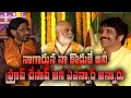 ANR said that I proved Nagarjuna is his son..|| JK Bharavi || K Raghavendra Rao ||