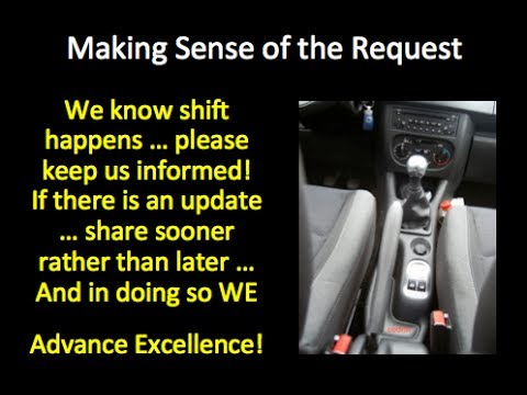Reframe with Real Information Because Shift Happens