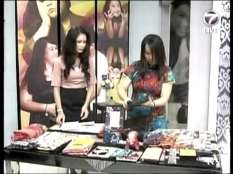 NTV 7 feature Malaysian Batik by Emilia Tan