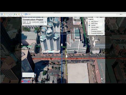 Google Earth Pro Map-Making Tool