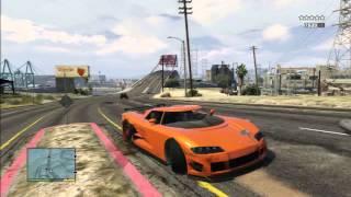 GTA 5 FAST CAR STUNT