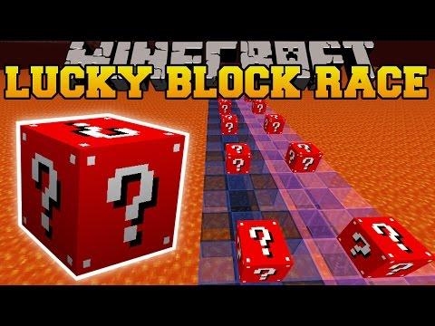 Minecraft: TROLLING RED LUCKY BLOCK RACE - Lucky Block Mod - Modded Mini-Game