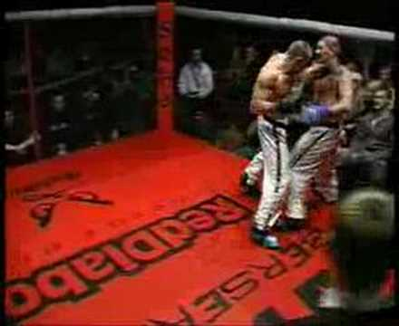 Taekwon-do ITF in the cage (full fight)