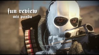 Army of Two - The Devil's Cartel Fun Review [German]