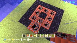 Minecraft Xbox 360: How To Make A TNT Rocket Jump/ Rocket