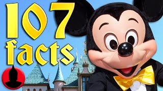 107 Disneyland Facts YOU Should Know! (ToonedUp #75) - @ChannelFred