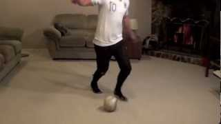 At Home Football Drills: How To Do Football Dribbling