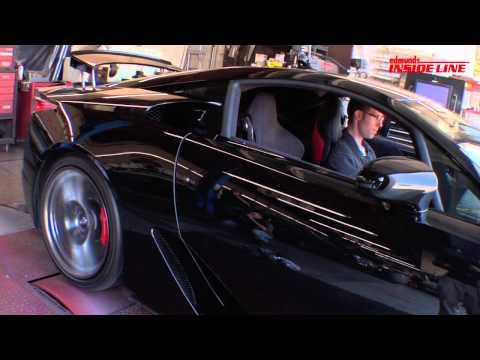 2012 Lexus LFA Road Trip: Dyno Test