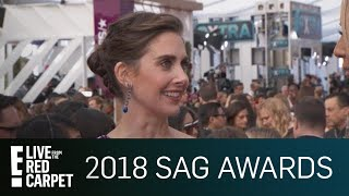 Alison Brie Addresses James Franco Allegations at SAG Awards | E! Live from the Red Carpet
