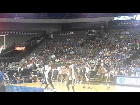 jae crowder and 1 dallas mavericks practice/scrimmage 3
