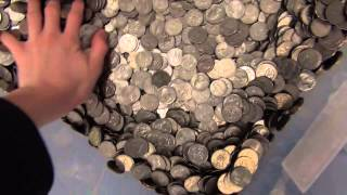 Cashing in 200 lbs In Coins
