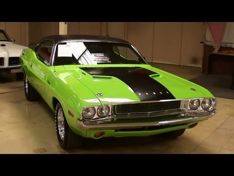 1970 Dodge Challenger 440 V8 Sublime Green Mopar Muscle Car