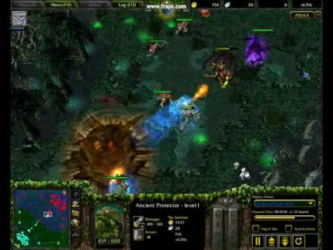 Dota - Tiny & Lina x2 Kills