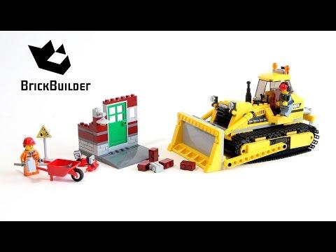 Lego city 60074 bulldozer lego speed build