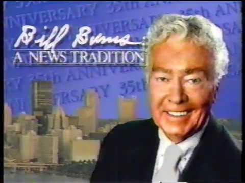 Bill Burns 35th Anniversary at KDKA-TV 1988