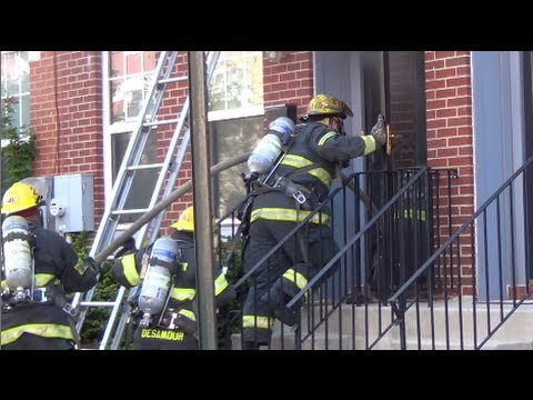 Early video: Rowhouse fire in Philly