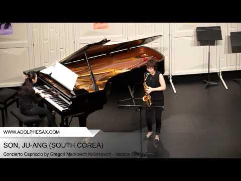 Dinant 2014 SUSUKI Yuko Concierto Capriccio by Gregori Markovich Kalinkovich Version DINANT