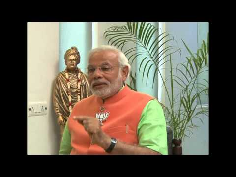 Shri Narendra Modi shares his thoughts on BJP's foreign policy