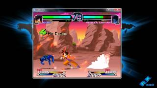 GAMEPLAY DRAGON BALL Z M.U.G.E.N 2011 PC [ + Descarga