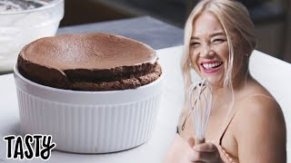 Giant Chocolate Souffle: Behind Tasty
