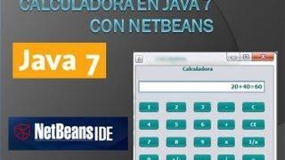 Calculadora En Java 7 Con Netbeans Diseño Y