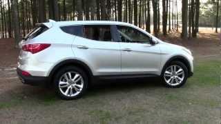 2013 Hyundai Santa Fe Sport AWD 2.0T CUV, Detailed Walkaround videos
