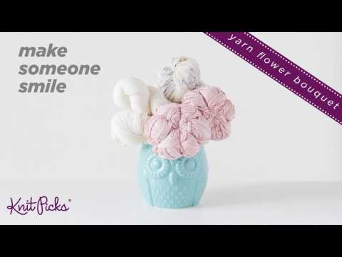 How to Make a Mother's Day Yarn Flower Bouquet