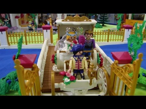 Playmobil chateau princesse youtube for Carrosse princesse playmobil