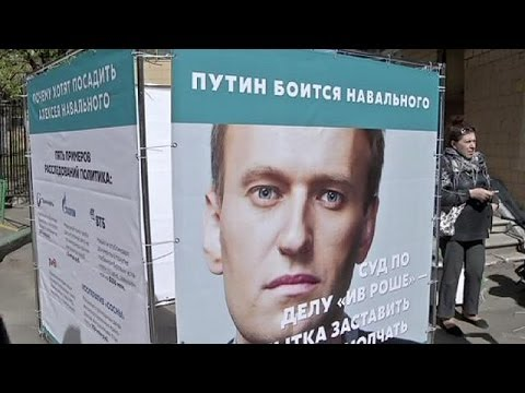 Russian opposition leader Alexei Navalny under house arrest
