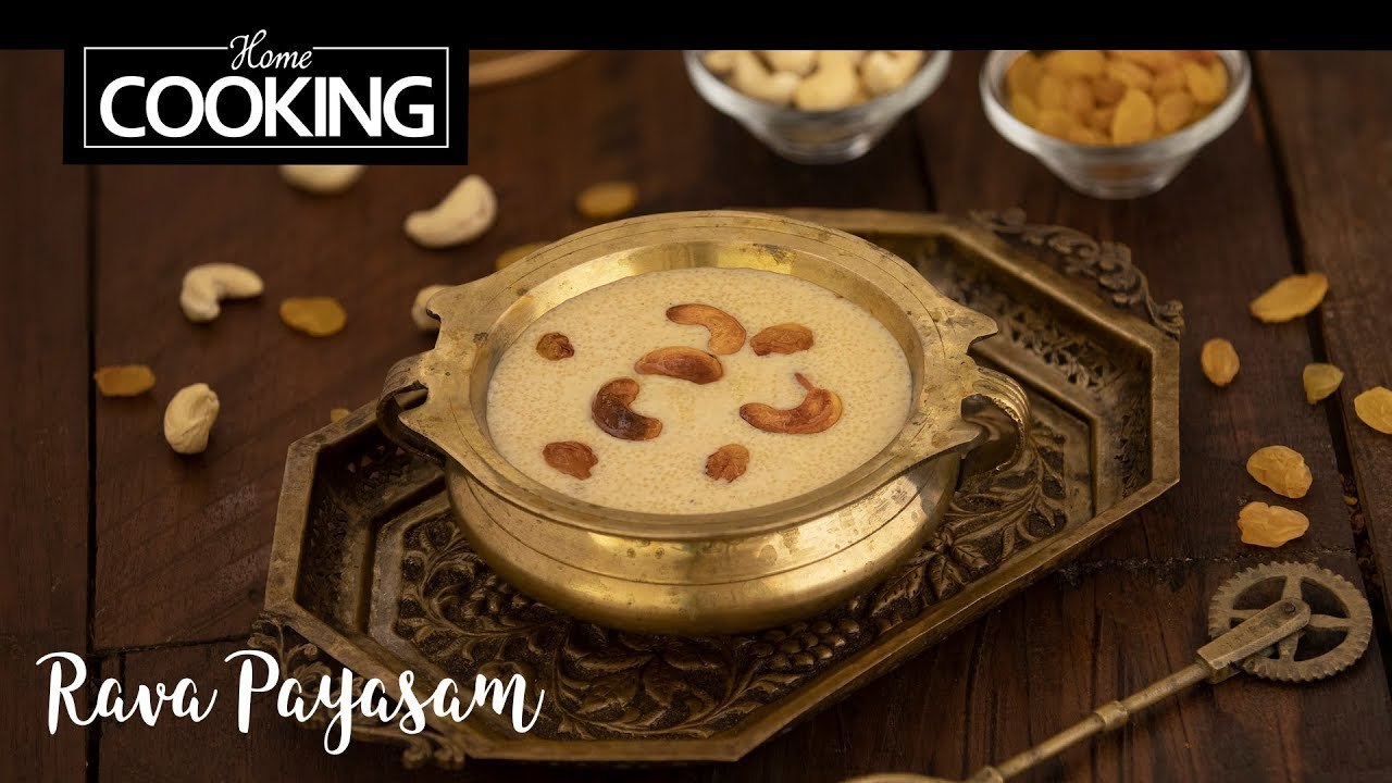 Rava Payasam | Sooji Kheer | Dessert Recipes