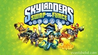 Skylanders SWAP FORCE Gameplay Preview By EvanTubeGAMING