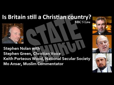 Is Britain Still A Christian Country | BBC Radio 5 Live, 27th April 2014