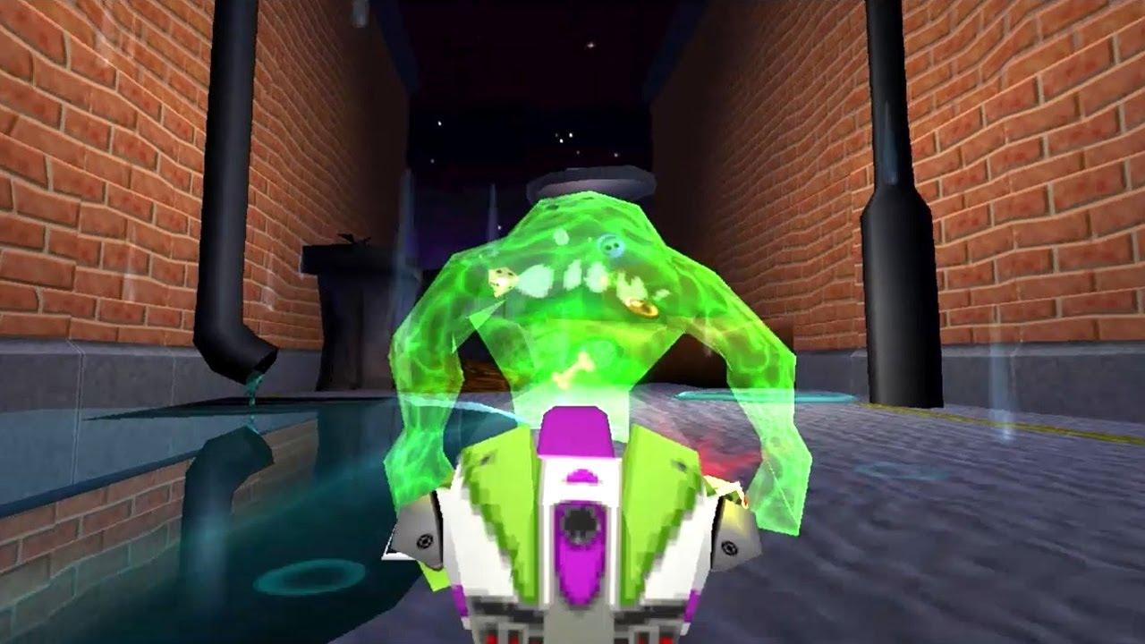 Toy Story 2 Walkthrough Level 6 Slime Time Youtube
