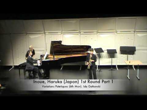 Inoue, Haruka (Japon) 1st Round Part 1