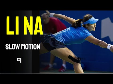 Li Na Slow Motion Compilation #1
