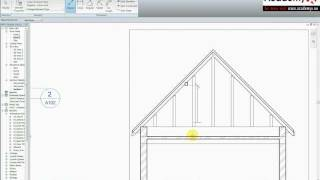 Autodesk revit architecture 2010 - rafter 02 view on youtube.com tube online.