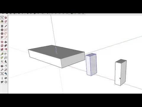 10 SketchUp Tutorial 10 - Elements, Groups and Components