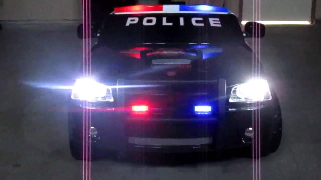 kid trax dodge charger police cruiser added lights youtube. Black Bedroom Furniture Sets. Home Design Ideas