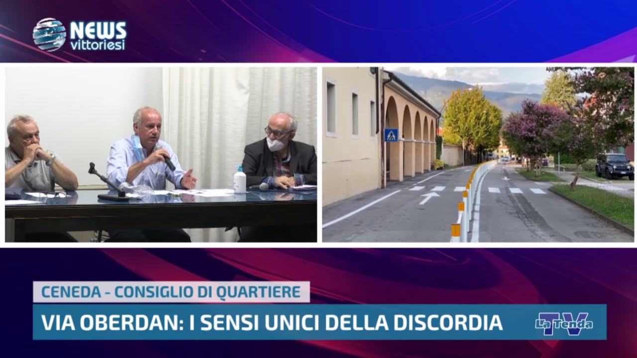News vittoriesi - Via Oberdan: i sensi unici della discordia