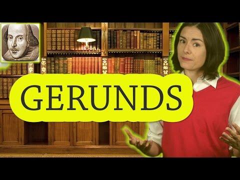 What is a Gerund vs Present Participle  |  Basic English Grammar Rules | ESL | SAT | TOEFL