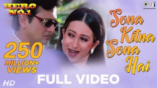 Sona Kitna Sona Hai - Hero No 1 - Popular Hit Song - Govinda & Karisma Kapoor