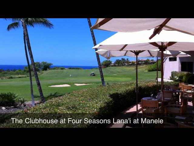The Clubhouse - Four Seasons Lana'i at Manele