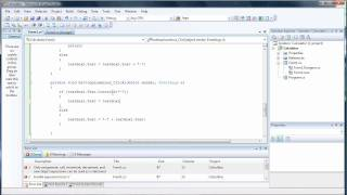 Create Your Own Calculator Tutorial Part 1 - C Sharp Visual Studio 2008 view on youtube.com tube online.